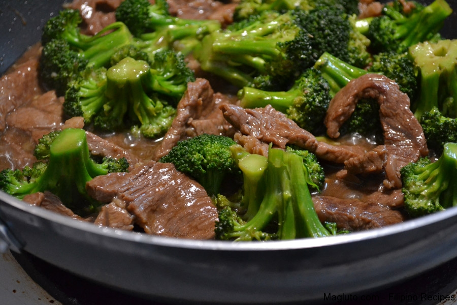 Beef Broccoli | Magluto.com - Filipino Dishes & Recipes