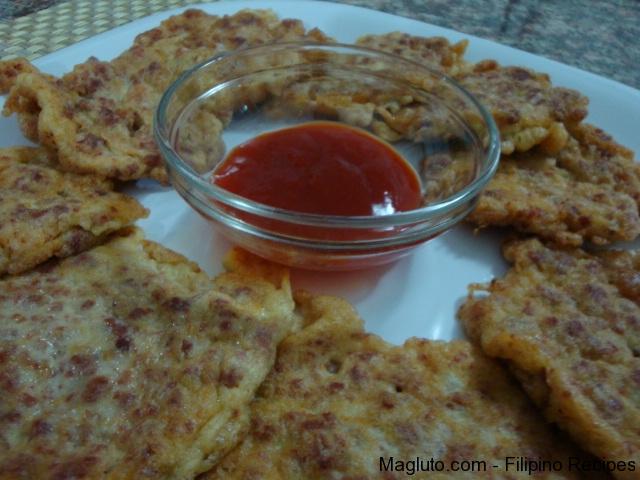Filipino Recipe Corned Beef Burger Magluto Com Filipino Dishes