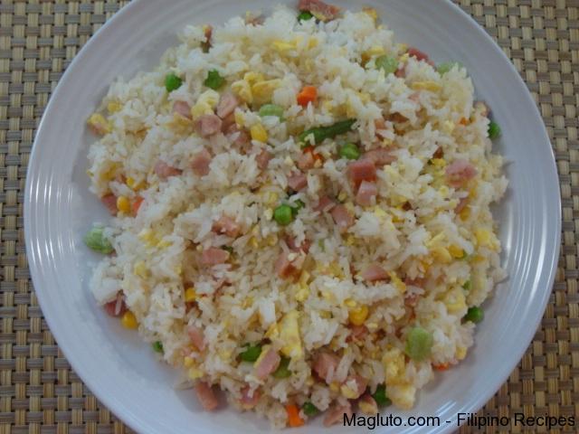 Filipino Recipe Fried Rice Sinangag Magluto Com Filipino Dishes Amp Recipes