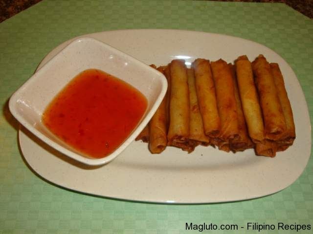 filipino lumpia shanghai recipe: gullu