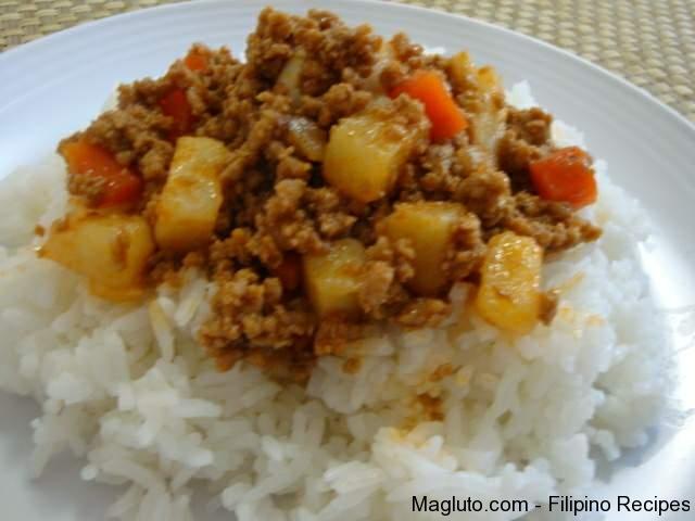 Picadillo Filipino Food Recipes