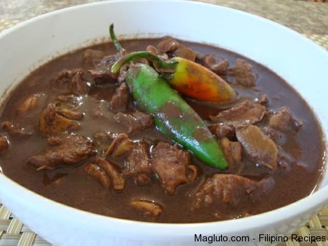 Recipe for pork filipino dishes