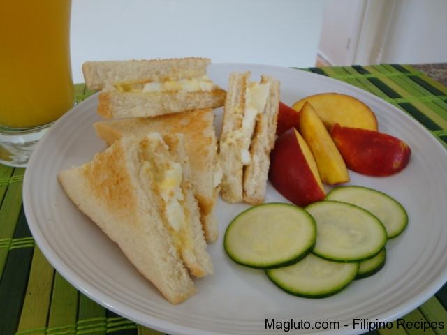 Filipino recipe egg sandwich spread magluto filipino filipino recipe simpleng egg sandwich spread4 forumfinder Image collections
