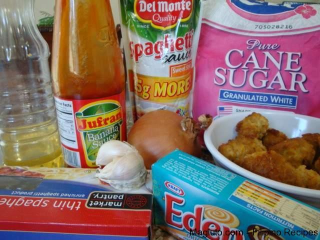 Filipino Recipe Spaghetti With Meat1 Jpg
