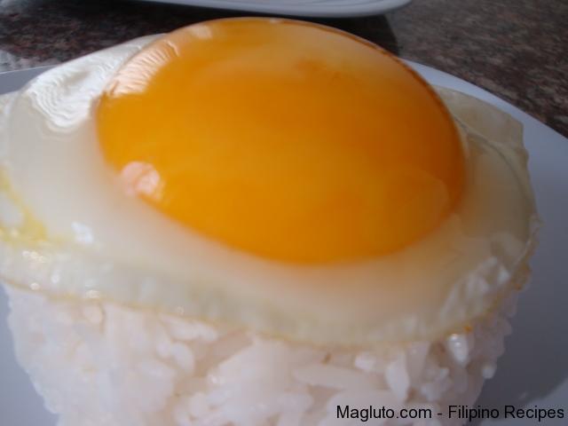 Filipino Recipe Sunny Side up Egg | Magluto.com - Filipino Dishes ...