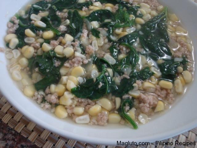 Filipino recipe swam na mais pinoy corn soup magluto filipino recipe swam na mais11 ingredients forumfinder Gallery