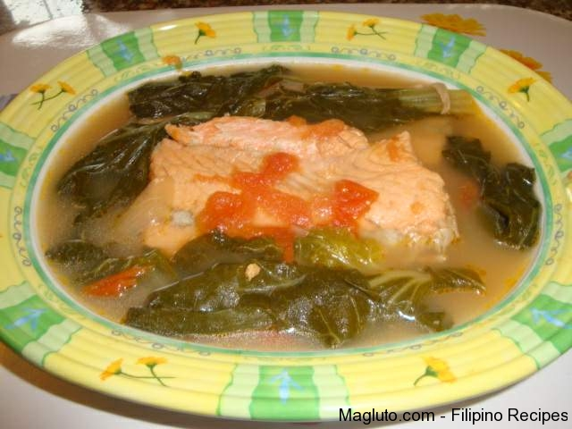 Filipino recipe sinigang na isda fish in sour soup for Filipino fish recipes