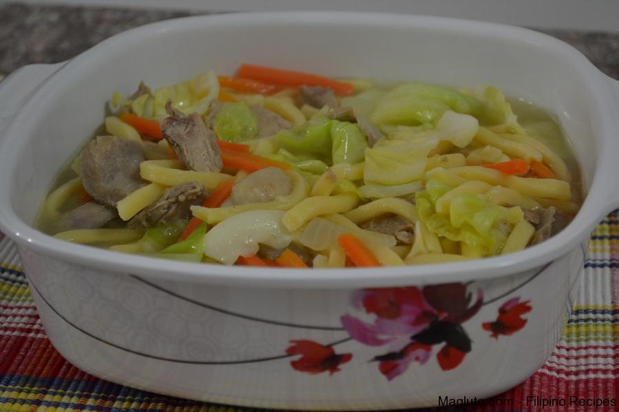 Best Lomi Soup Recipe