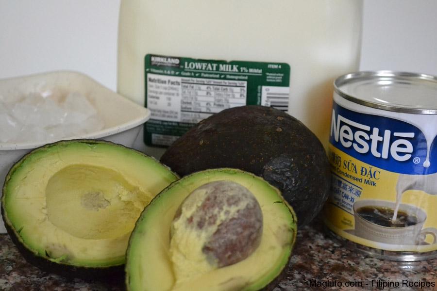 Avocado Milkshake | Filipino Style Recipe
