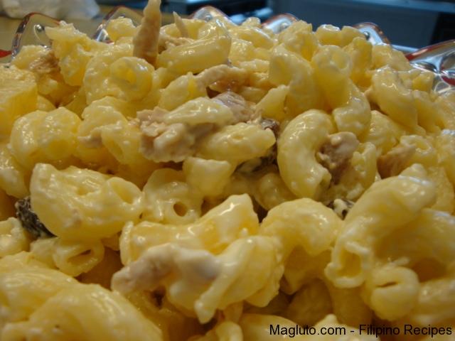 Pinoy recipe chicken macaroni salad12