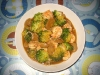 Pinoy Style Prawn Brocolli in Oyster Sauce